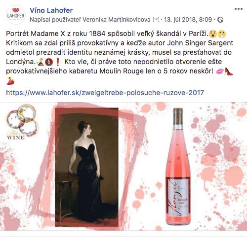 Séria Art&Wine vytvorená pre Lahofer spája umenie, umelecké diela a moravské víno.